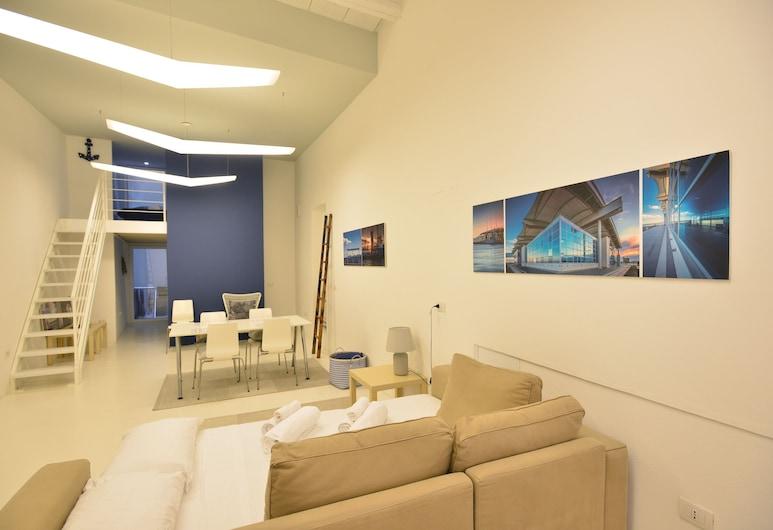 IzzHome Loft 84, Кальярі, Апартаменти, 1 спальня, Вітальня