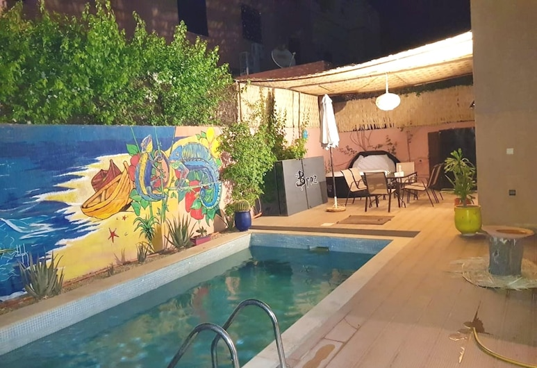 Villa With 3 Bedrooms in Marrakech, With Private Pool, Enclosed Garden and Wifi, Harbil