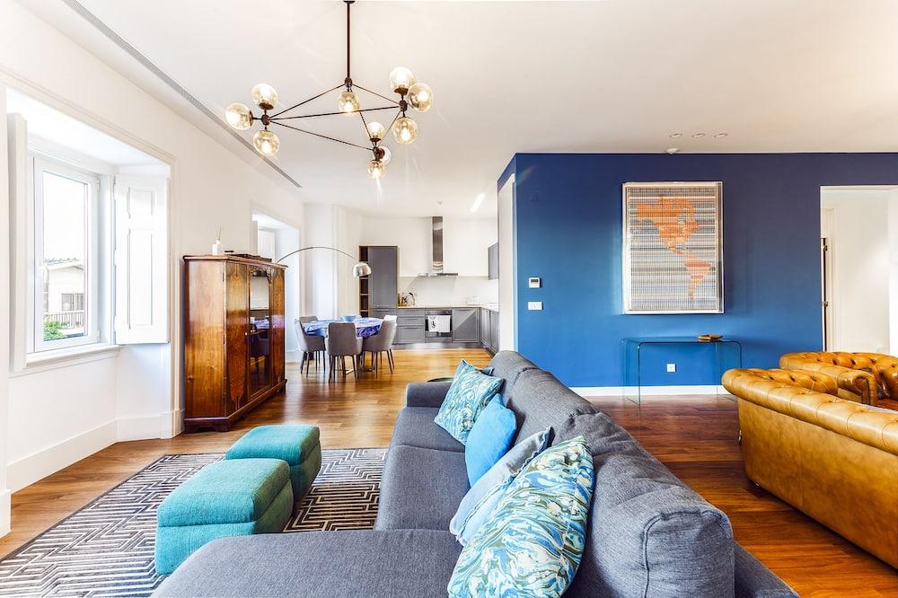 Apartmán, 2 spálne (1) - Obývačka