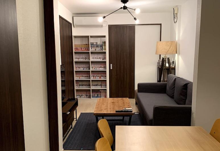 TY House Shin-Osaka, 大阪市, アパートメントハウス, リビング エリア