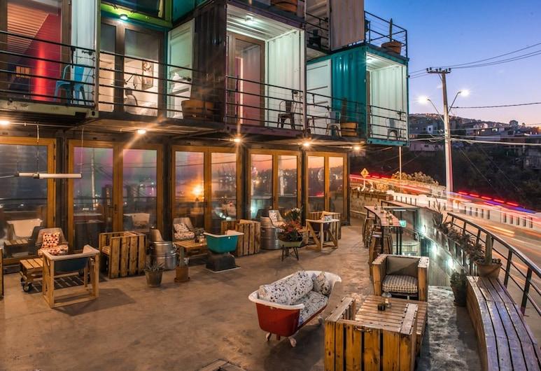 واين بوكس فالبارايسو, فالبريسو, غرفة مزدوجة عادية - بحمام خاص, إطلالة على الشاطئ/ البحر