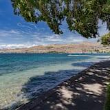 Appart'hôtel, 2 chambres, bain à remous, vue lac (Chelan Resort Suites: #409 (Suite Vie) - Plage