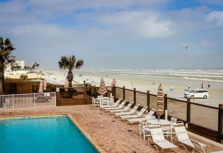 Daytona Beachside, Daytona Beach, Studio, 1 Bedroom, Private Pool, Ocean View (Sweet Retreat by the Sea), Outdoor Pool