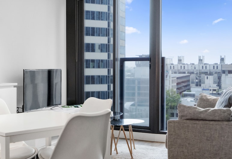 DreamHost Apartments at Carlson View, Melbourne, DreamHost at Carlson View 6 - Apartment, 2 Bedrooms, Non Smoking, Living Area