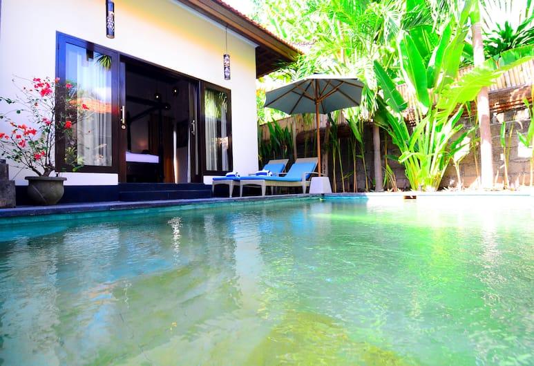 Villa Kubu Tanjung Sanur Bali, Denpasar, Vila Mewah, 1 kamar tidur, non-smoking, Teras/Patio