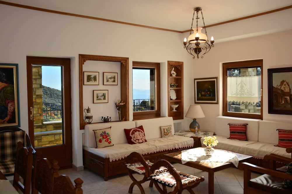 Villa, trīs guļamistabas - Dzīvojamā zona