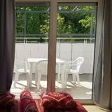 Апартаменты, 2 спальни, для некурящих (Nr. 5) - Зона гостиной