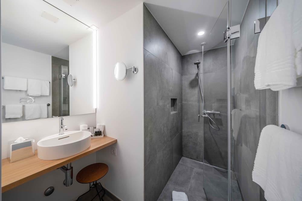 ดีไซน์สตูดิโอ, เตียงคิงไซส์ 1 เตียง, วิวสวน - ห้องน้ำ