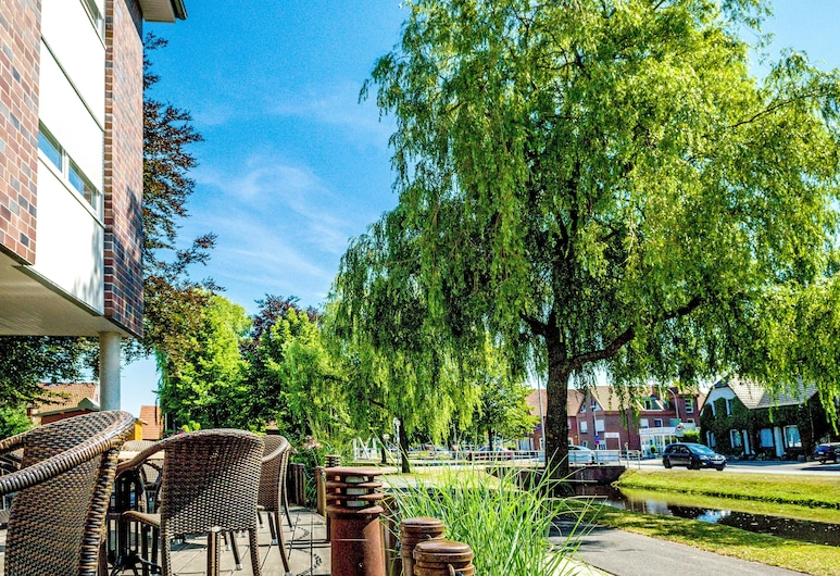 Hotel-Restaurant Hilling, Papenburg, Terraço/Pátio Interior