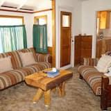 Kunyhó, 2 hálószobával - Nappali rész