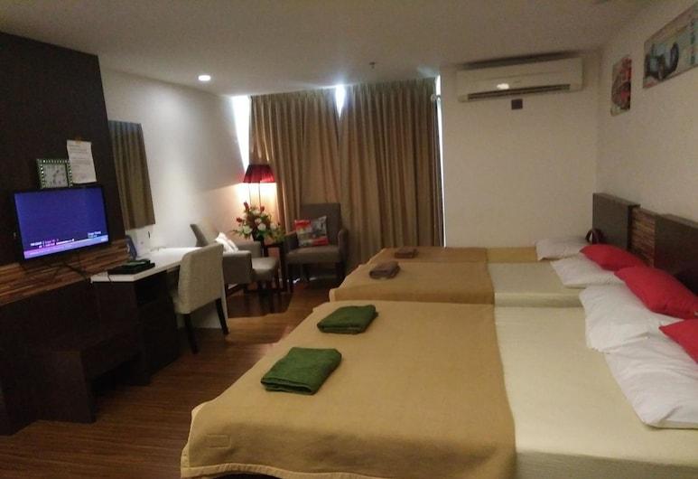 Best Studio Guest House, Kota Bharu, Obiteljski studio apartman, Soba za goste