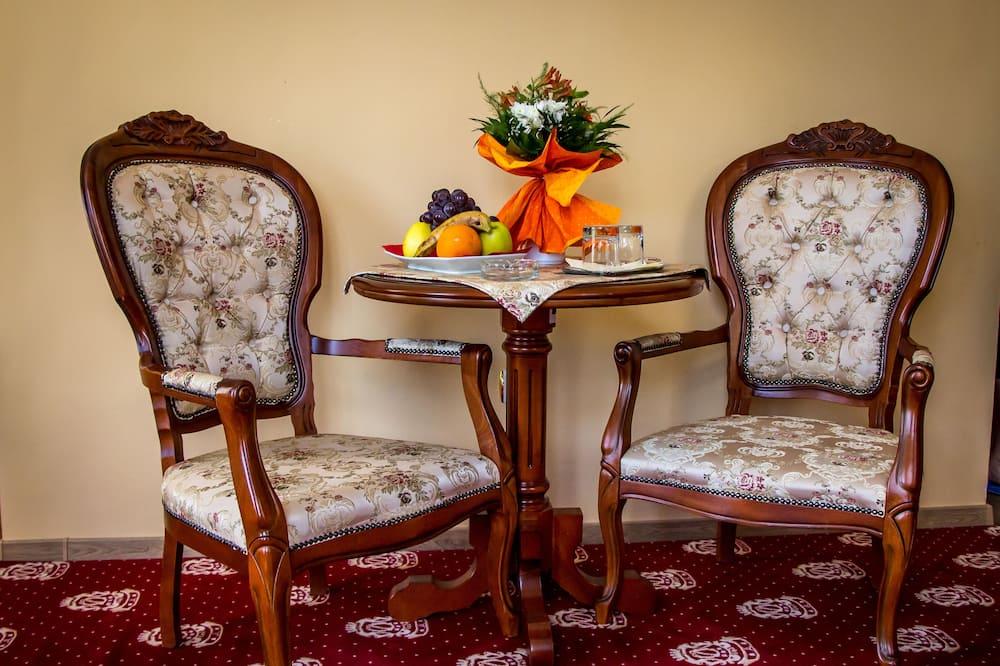 Habitación doble, para no fumadores - Sala de estar