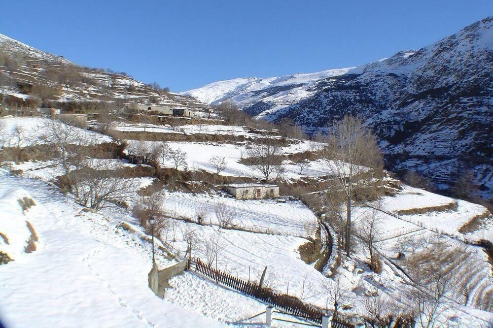 Habitación con 2 camas individuales, vista a la montaña - Vista a la montaña