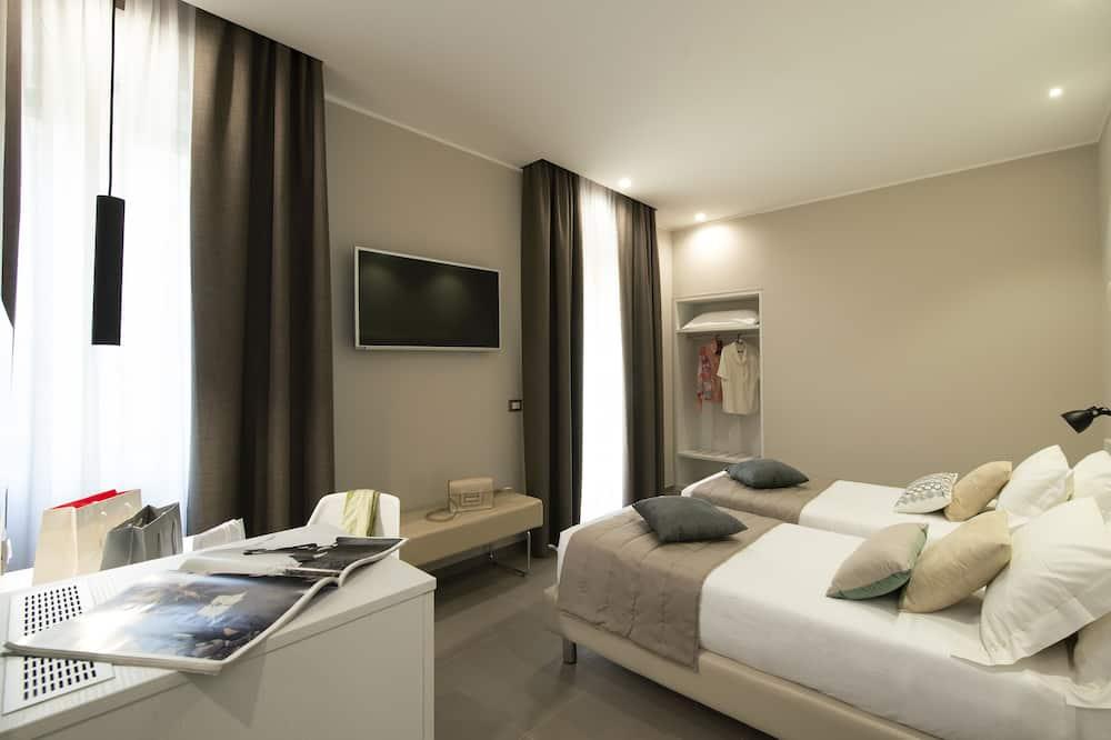 Pokój dwuosobowy z 1 lub 2 łóżkami typu Superior, taras - Pokój