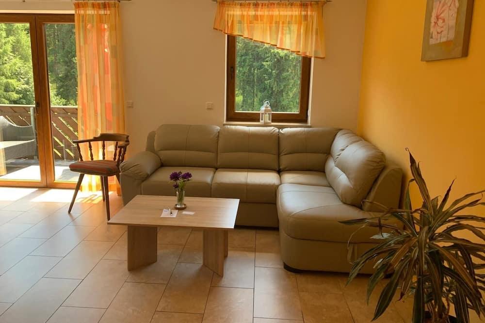 Family Condo, 1 Bedroom, Non Smoking, Balcony - Living Room