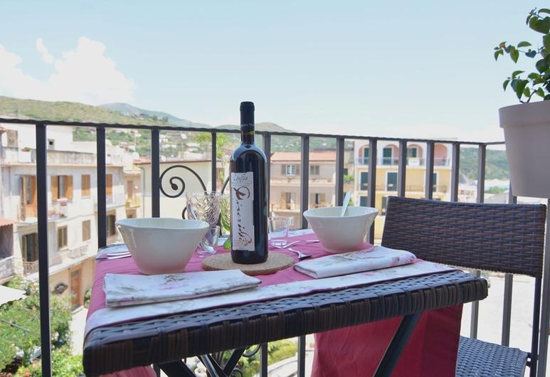 B&B Slow Life, Camerota, Apartmá typu Deluxe, balkon, výhled na moře, Balkón