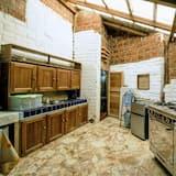 Ģimenes bungalo, divas guļamistabas, divas vannasistabas, pretī pludmalei - Kopīga virtuve