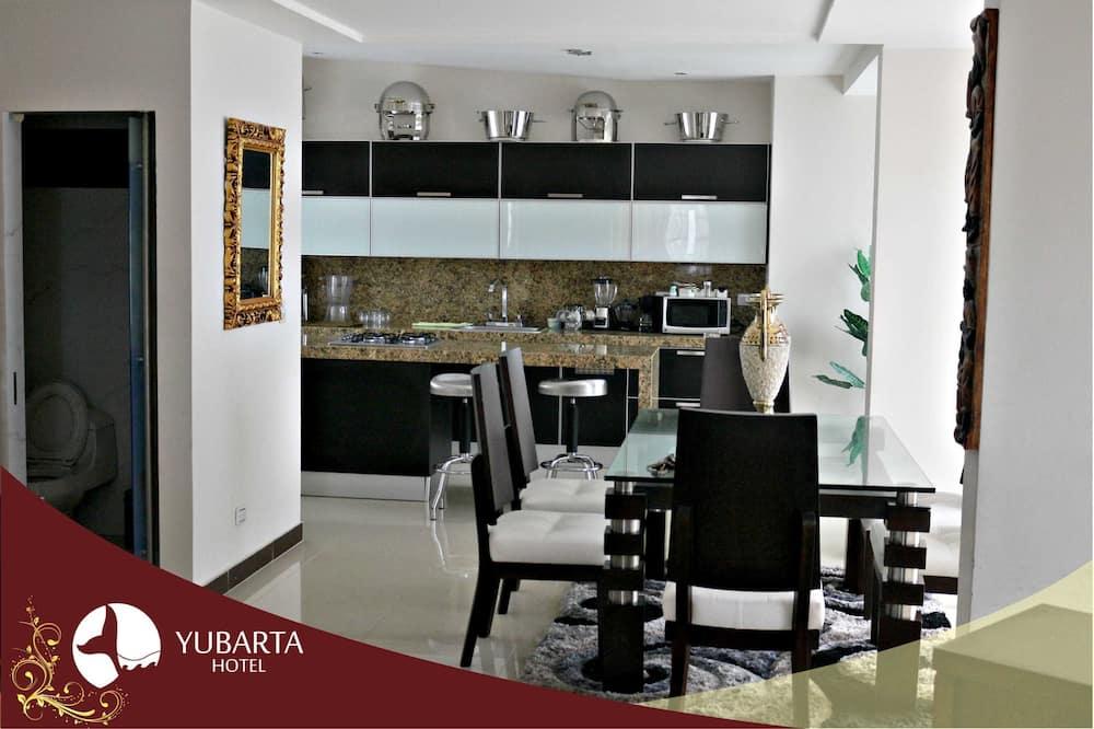 Apartament prezydencki typu Suite - Powierzchnia mieszkalna