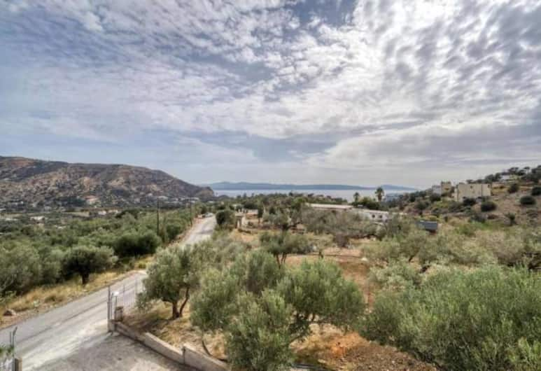 Creta Star Apartments, Agios Vasileios, Appartement Standard, 2 lits une place, non-fumeurs, vue mer, Vue aérienne