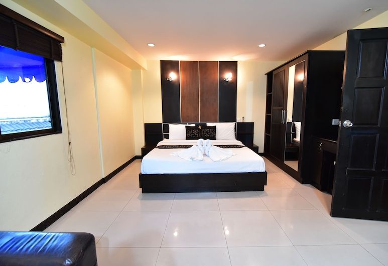 Climax Hotel, Pattaya, Rom – deluxe, Gjesterom