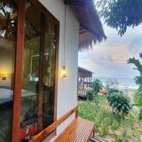 Obiteljski suite, 1 spavaća soba, pogled na ocean - Terasa/trijem