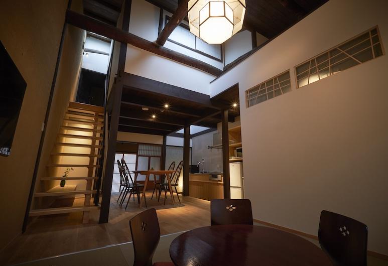Nishijinkita Hagi, Kyoto, Tradičný dom (Private Vacation Home), Obývacie priestory