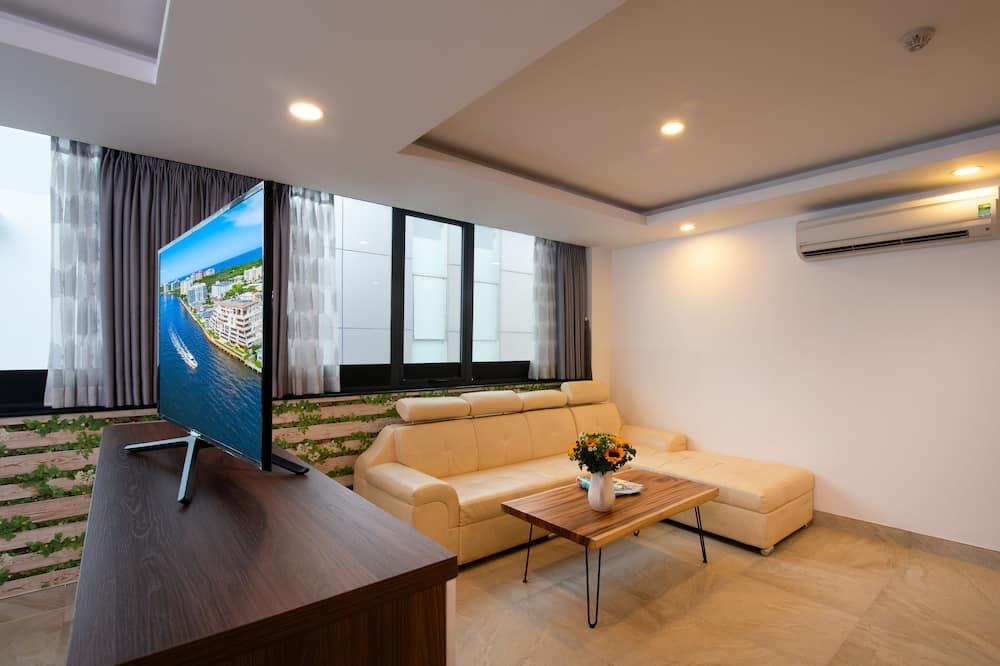 Apartament typu Studio, widok na miasto - Powierzchnia mieszkalna
