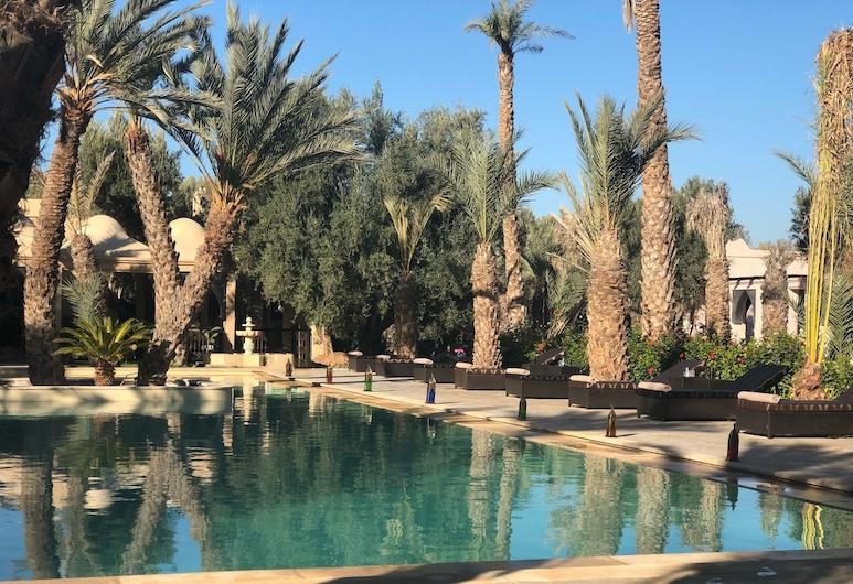 Riad le Jasmin, Sidi Dahmane, Udendørs pool