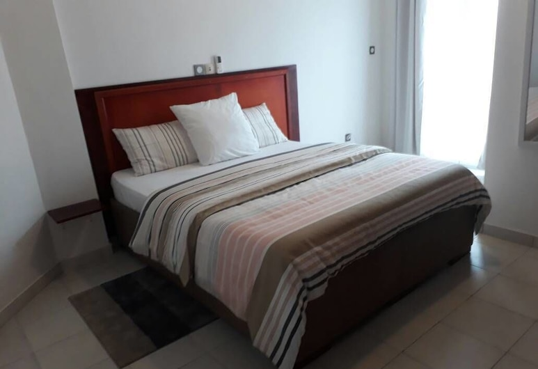 Le Buffle Noir Douala, Douala, ห้องคอมฟอร์ทดับเบิล (Le Point Depart), ห้องพัก