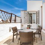 Luxe penthouse, 2 badkamers, Uitzicht op zee - Terras