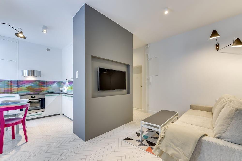 Apartment (Kamienica Fahrenheita) - Living Area