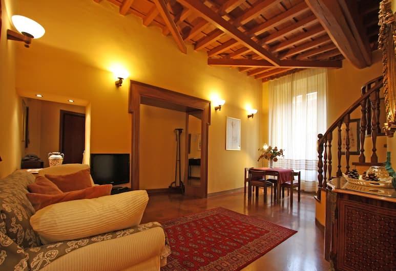 Travel & Stay - Gesù 2, Rome, Studio, Woonkamer