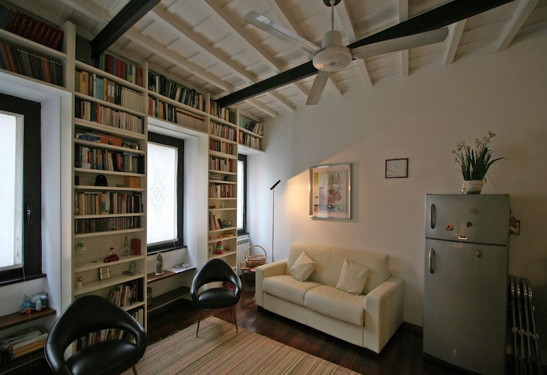 Travel & Stay - Leopardo, Rome, Apartment, 1 Bedroom, Living Area