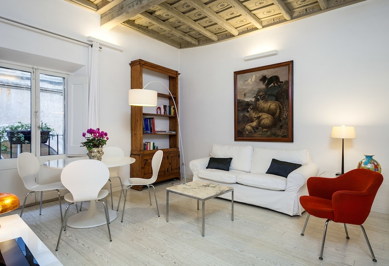 Travel & Stay - Maddalena, Rome, Apartment, 1 Bedroom, Living Area