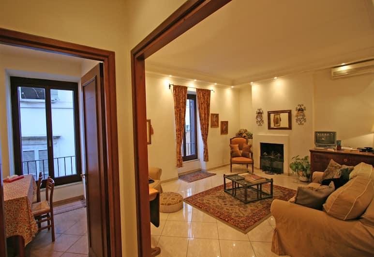 Travel & Stay - Parione, Rom, Apartment, 1 Schlafzimmer, Wohnzimmer