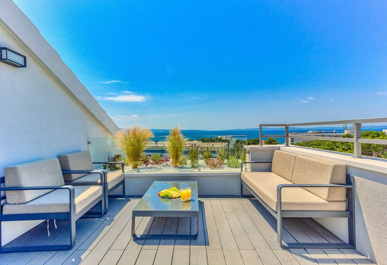 Bel Residence, Split, Luxury-Apartment, 1 Schlafzimmer, Whirlpool, Terrasse/Patio