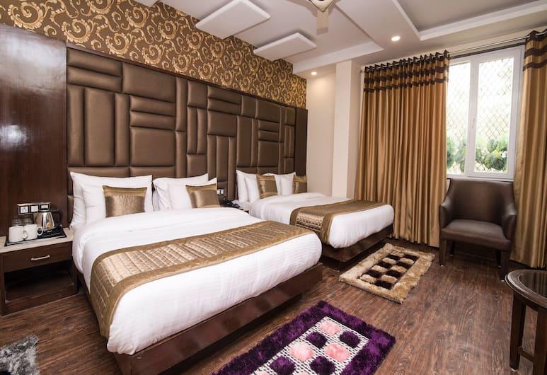 OYO 14831 hotel mannat, Yeni Delhi, Deluxe Tek Büyük veya İki Ayrı Yataklı Oda, Oda
