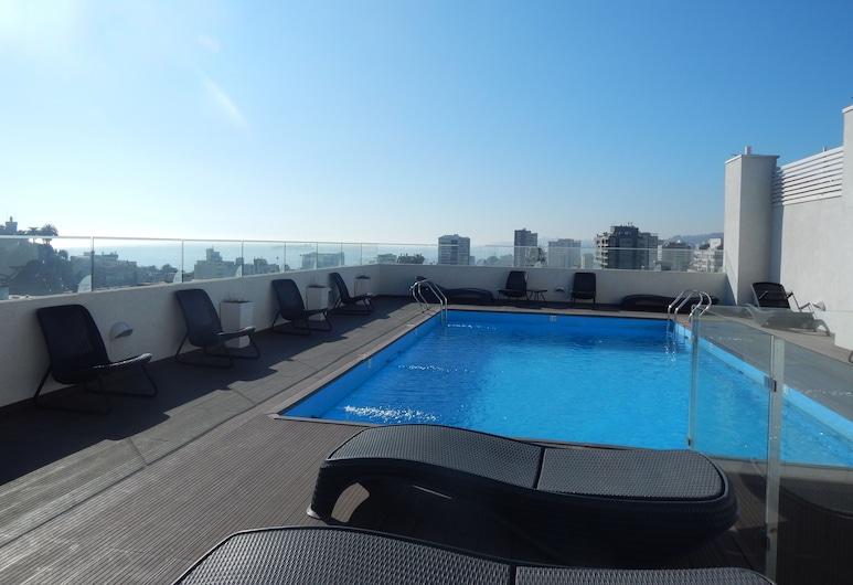 1504 Apartamento Centro Viana, Vina del Mar, Kültéri medence