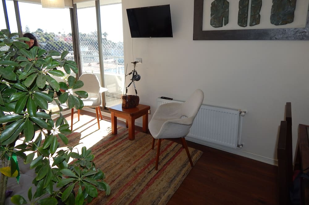 Apartamento Familiar, 3 Quartos, 2 Casas de Banho, Torre - Área de Estar