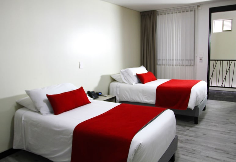 White Lighthouse Hotel, Bogotá, Standard Double Room, 2 Twin Beds, Guest Room
