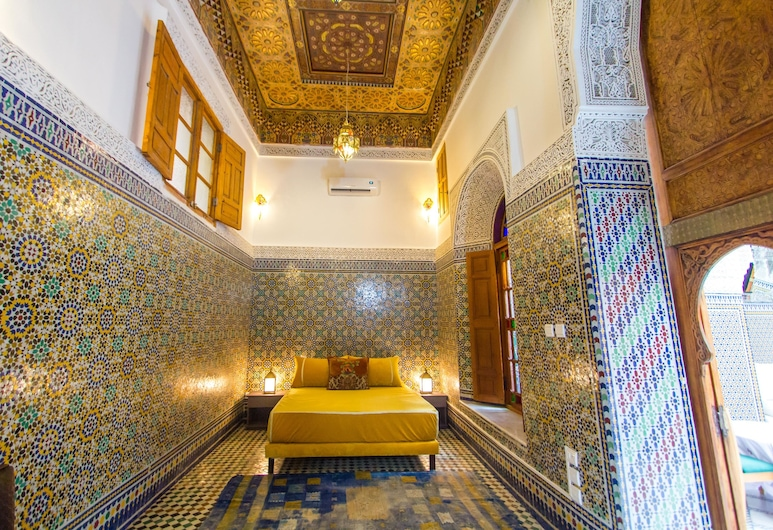 Riad Dar Iline, Fes, Family Suite, 1 King Bed, Non Smoking, Guest Room