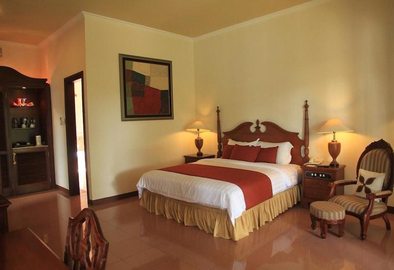 Villa Grand Artos, Magelang, Liukso klasės dvivietis kambarys (1 asmeniui), Svečių kambarys