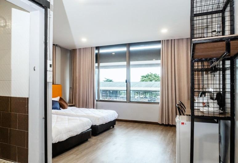 Full Moon' House,  Νάκον Σι Ταμάρατ, Standard Δίκλινο Δωμάτιο (Twin), Δωμάτιο επισκεπτών