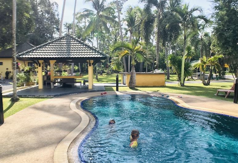 瑪若琳住宅度假村, 蘇梅島, 室外泳池