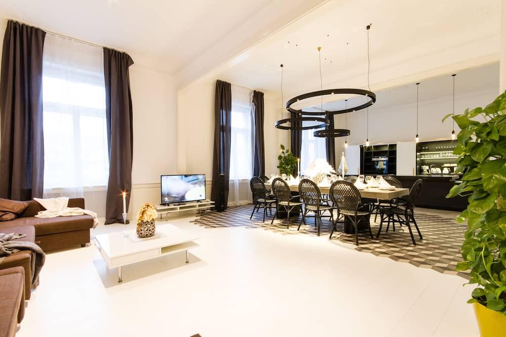 Apartment B 4-Bedroom - Wohnbereich