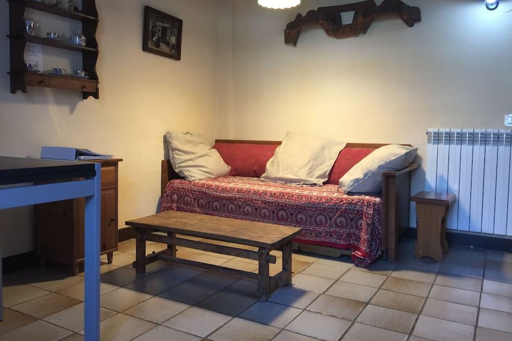 Dzīvokļnumurs, viena guļamistaba, terase - Dzīvojamā zona