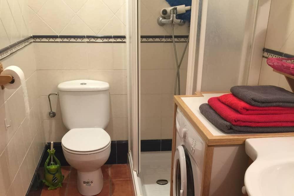 Dzīvokļnumurs, viena guļamistaba, terase - Vannasistaba