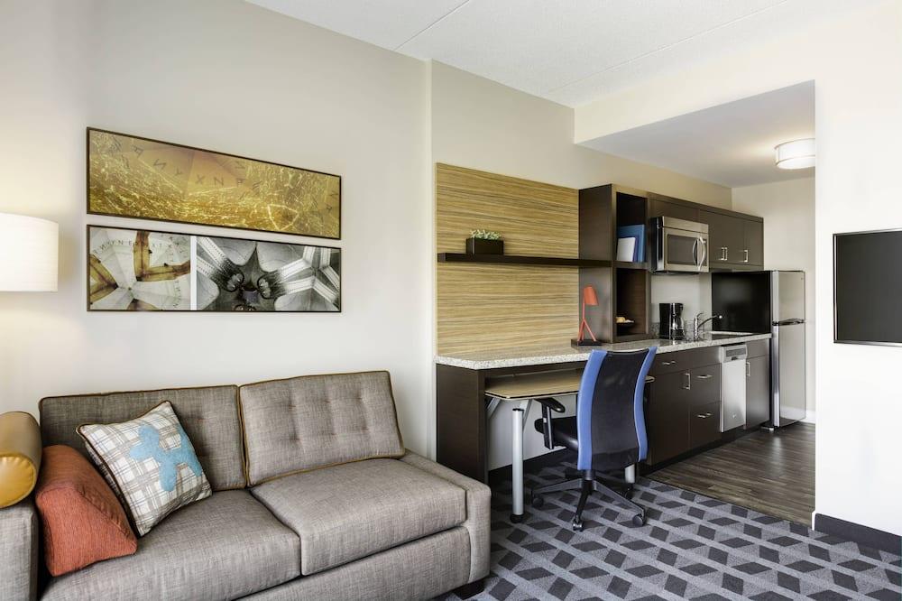 套房, 2 間臥室, 非吸煙房 - 客廳