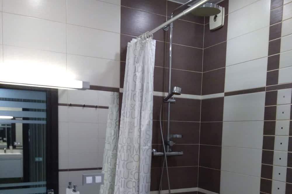 Appartement Panoramique - Douche de la salle de bain