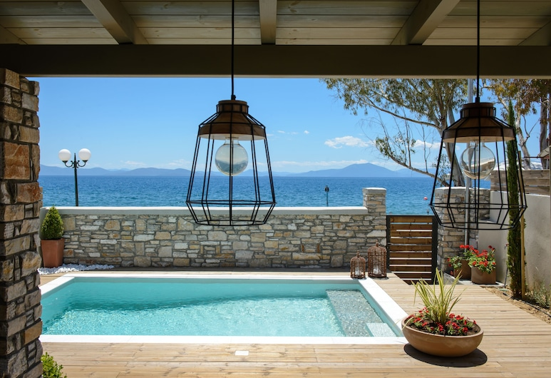 Gatzea Villas, South Pelion, Luxury Villa, 3 Bedrooms, Private Pool, Sea View, Terrace/Patio